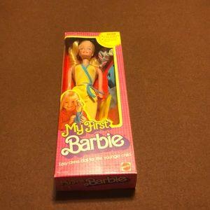 1980 My First Barbie